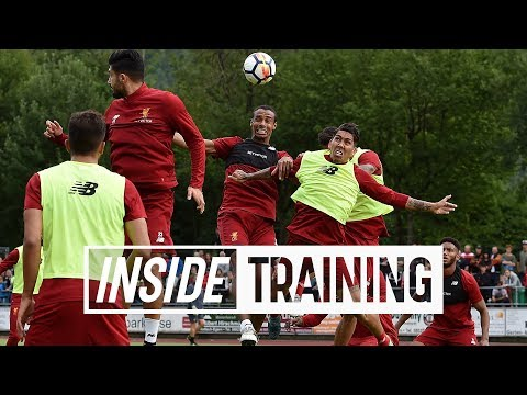 Inside Training: Entertaining headers-only match featuring the entire Liverpool squad