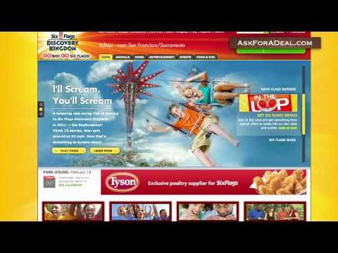 photo about Six Flags Printable Coupons named 6 Flags Discount codes