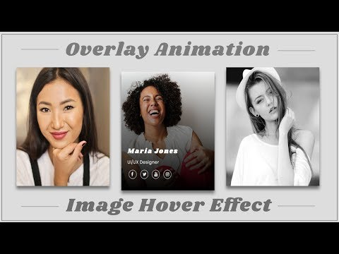 Image Overlay Hover Effect with CSS Flexbox | CSS Image Hover Effect