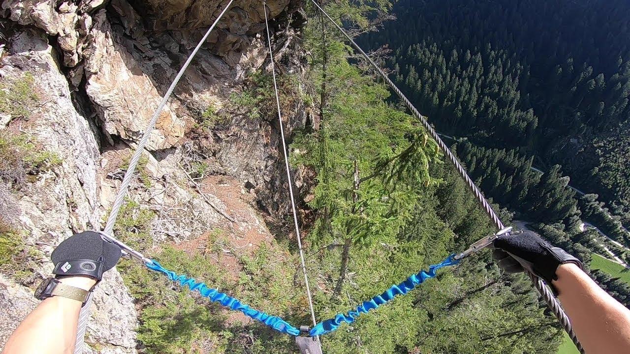 Klettersteig Nasenwand : Naturpark klettersteig nasenwand e youtube