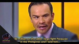 (Scared) Marquez Rejected $100 Million dollars to fight Manny Pacquiao Again