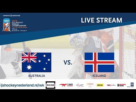 Live Stream WC Ice Hockey Division II Group A: Australia vs. Iceland April 23rd 2018