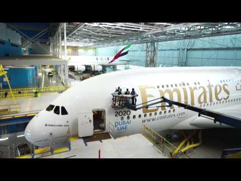 Expo 2020 Dubai flies high on Emirates A380 | Emirates Airline