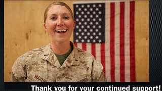 WOW!!! | Marine sings USA National Anthem from Afghanistan