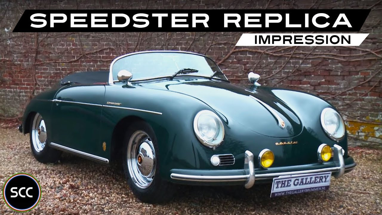 Porsche 356 Speedster Replica 1966 Modest Test Drive