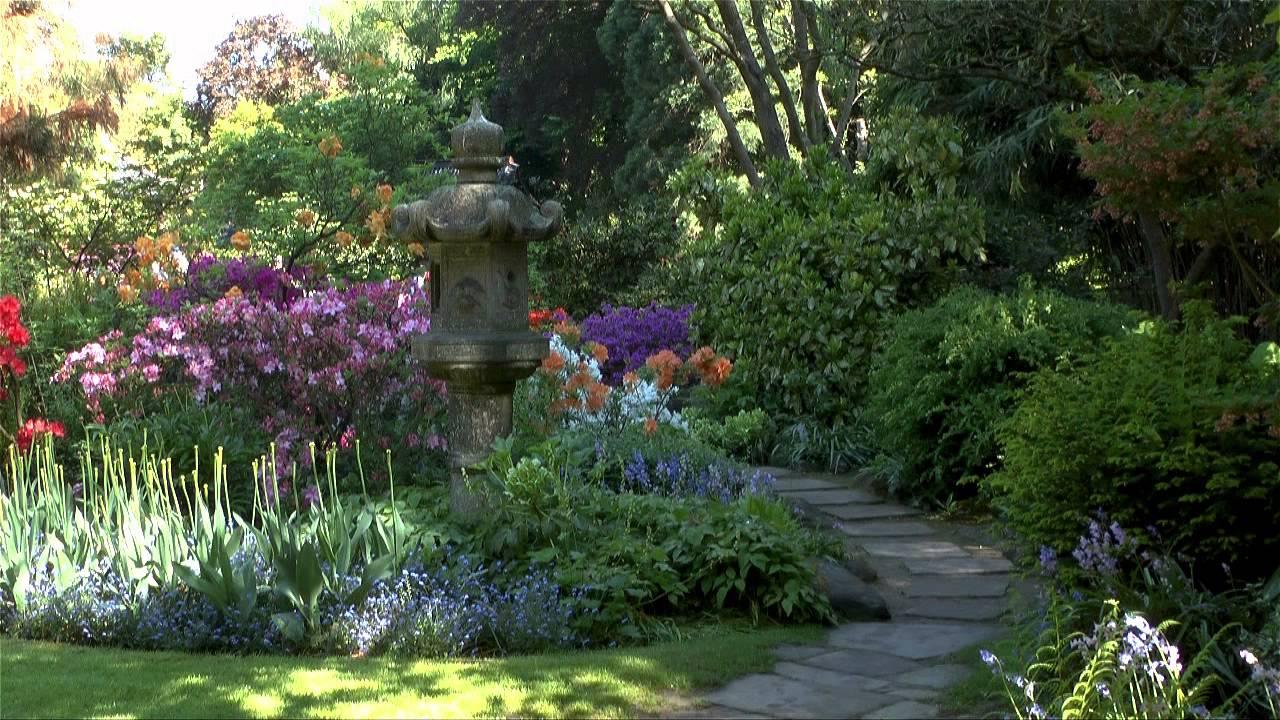 Ein schöner Garten im Frühjahr 2013   YouTube