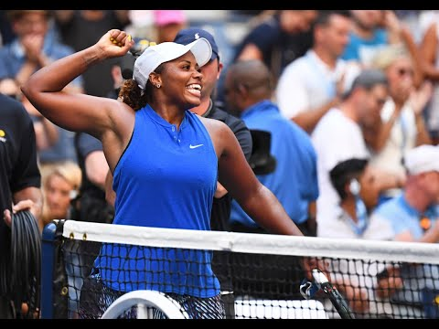 Simona Halep Vs. Taylor Townsend   US Open 2019 R2 Highlights