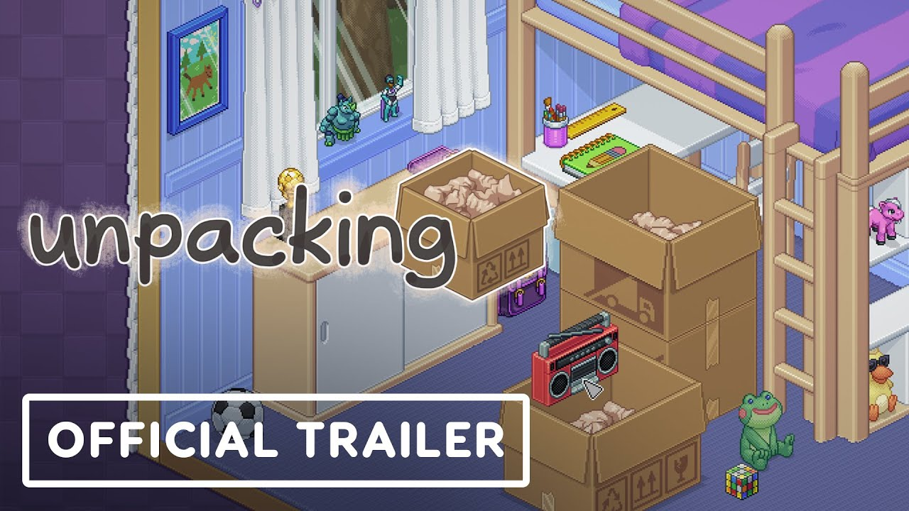 Unpacking - Official Trailer | Summer of Gaming 2021 - IGN