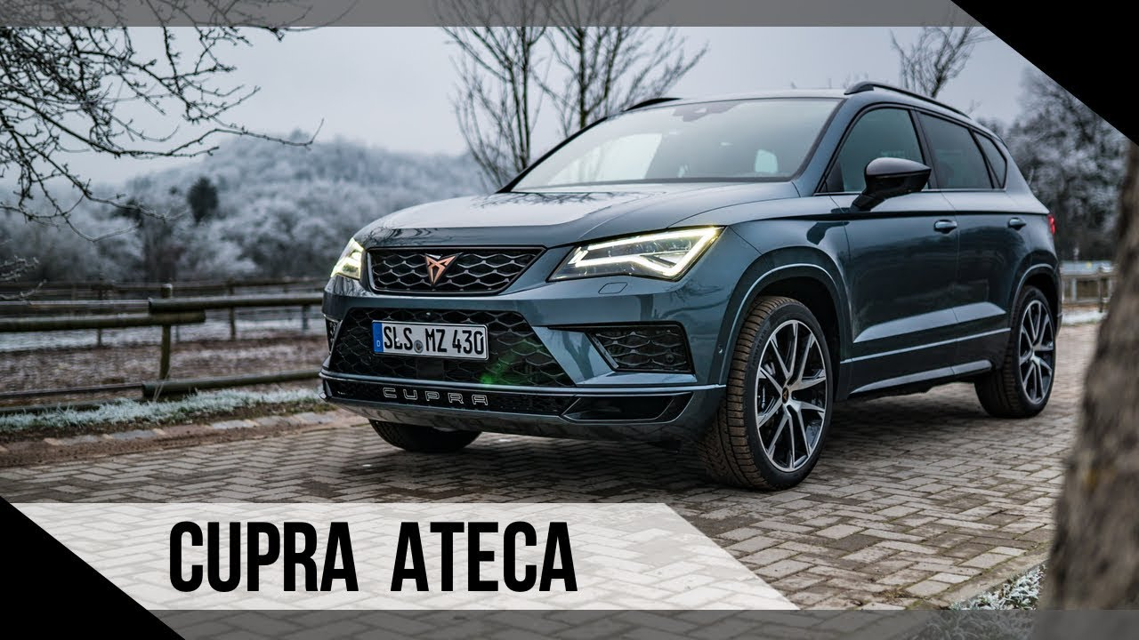 cupra ateca 2019 test review fahrbericht motorwoche mowo youtube. Black Bedroom Furniture Sets. Home Design Ideas