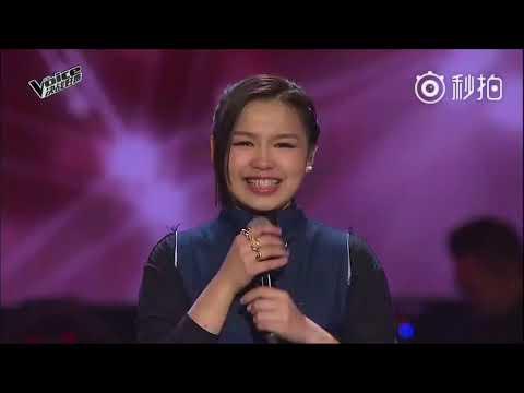 [2017.12.17]The Voice 决战好声 final 黄欣瑶 《Memori Tercipta》 (shila amzah)