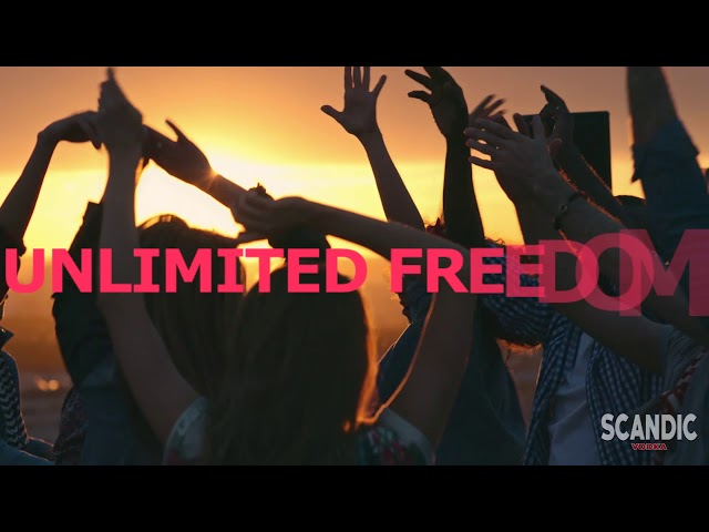 SCANDIC VODKA- Coolest vibes, Unlimited Freedom- Scandic Distilleries