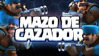 MI MAZO FAVORITO DE CAZADOR | Clash Royale