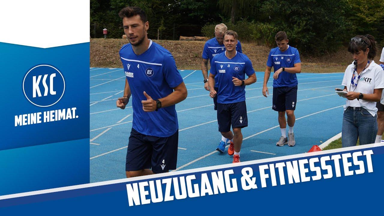 KSC-Neuzugang Robin Bormuth & Fitnesstest am KIT