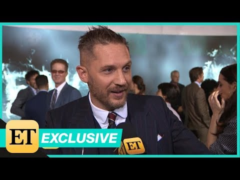 Tom Hardy Sweetly Says His Son Would Tell Him What He 'Was Doing Wrong' as Venom (Exclusive)