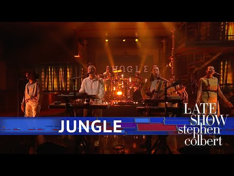 Jungle Perform 'Smile'