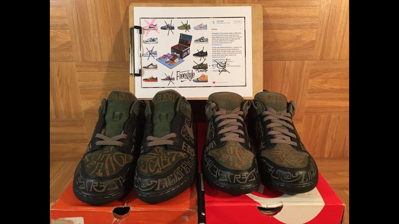 7da5e4fdd9c8c3 ShoeZeum Building Nike What The Doernbecher Dunk Highs 7 13  Lance Dillon s  Laser Dunks. Jordan Geller