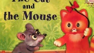 """Рассказываем сказку  на английском языке """" The cat and the mouse"""" / Английский для детей/"""