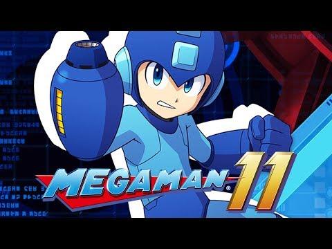 MEGA MAN 11 : A PRIMEIRA MEIA HORA