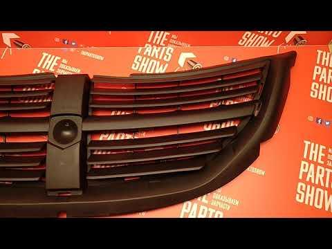 Решетка радиатора Dodge Carvan, Додж Караван 05-07. Обзор TYG.