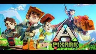 ПИКС АРК = МАЙКРАФТ + АРК / PixArk = Minecraft + Ark Survivel #1