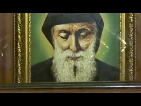 ŚW. CHARBEL - LIBAN - PUSTELNIA I GRÓB