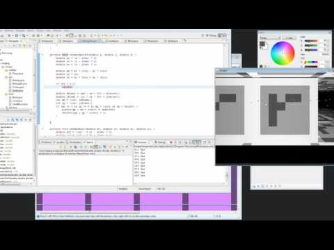 Notch coding Prelude of the Chambered  - Ludum Dare livestream - part 2