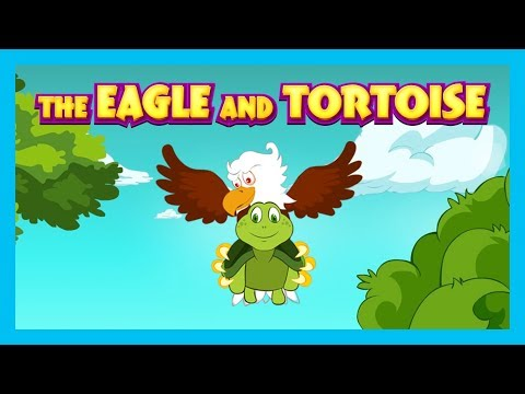 The Eagle and Tortoise - English Stories For Kids || Kids Story Compilation