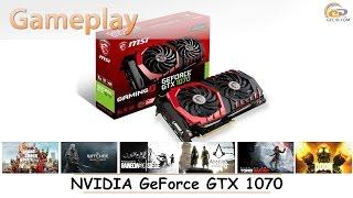 NVIDIA GeForce GTX 1070: gameplay в 20 популярных играх при Full HD