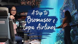 A TRIP TO BIOMUSEO & COPA AIRLINES   Panama Experience Part 3   @JillCassie