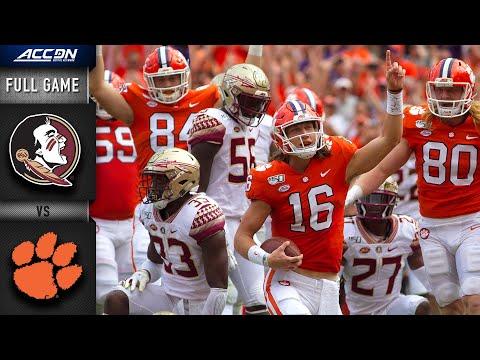 Florida State vs. Clemson Full Game | 2019 ACC Football