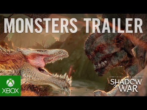 Official Shadow of War Monsters of Mordor Trailer
