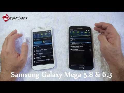 รีวิว Samsung Galaxy Mega 6.3 และ Galaxy Mega 5.8 [DroidSans Review]