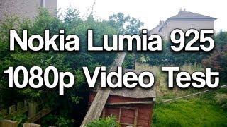 Nokia Lumia 925 1080p Back Camera Video Test