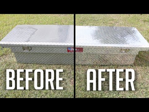how to clean and shine aluminum