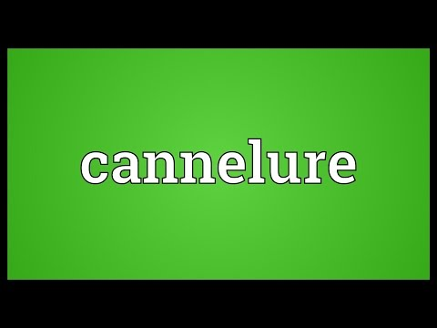 Header of cannelure