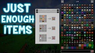 Mod de CRAFTEOS y RECETAS Minecraft 1.10.2 / 1.10 / 1.9.4 / 1.9 / 1.8.9 Just Enough Items = Nei