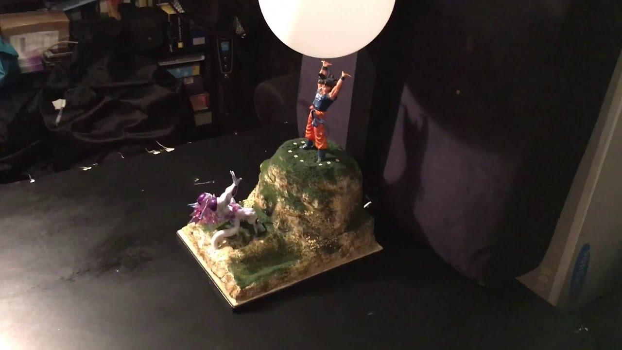 Dragon Ball Z Goku Vs Freeza Spirit Bomb Fight DIY Lamp