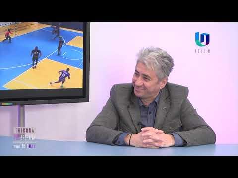 """TeleU: Alecu Ciorsac la """"Tribuna polisportivă"""""""