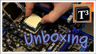 Fileserver CPU and RAM installation ▪ Unboxing ASUS P8B75-V mainboard