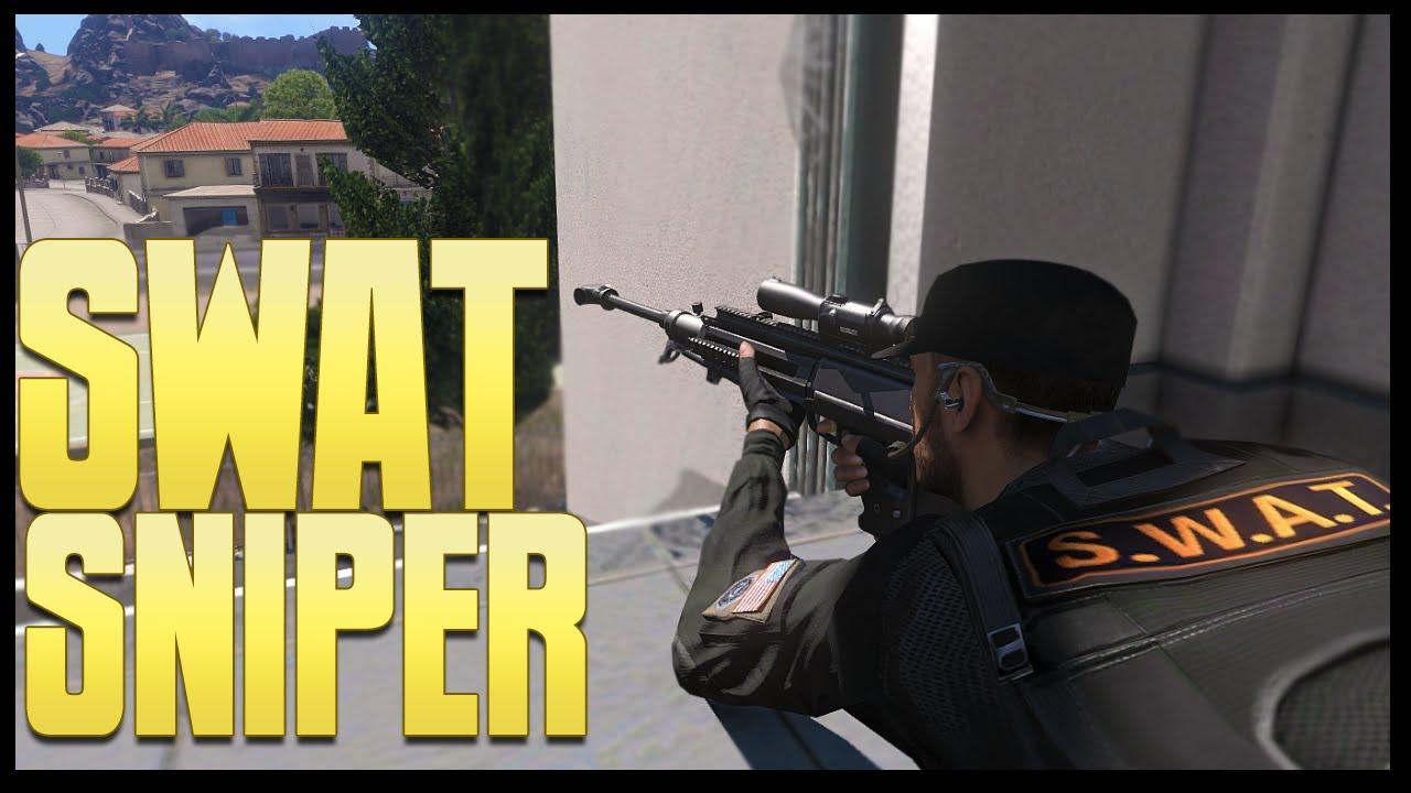 Cops Swat Sniper Altis Life Rpg Arma 3 Rhinocrunch Youtube