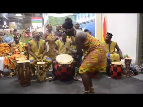 Cultural Display @ Ghana Day Reception ,ITB 2016