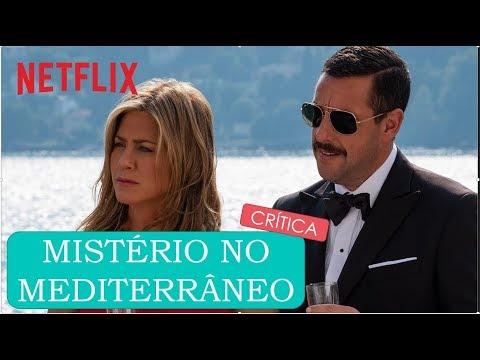 MISTÉRIO NO MEDITERRÂNEO🛳🗡O pior filme da carreira de Jennifer Aniston? 🎬 Crítica