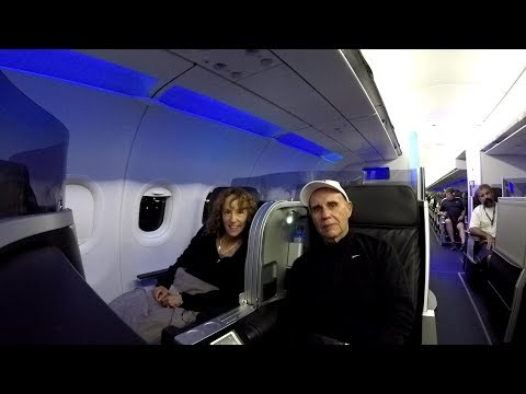 JetBlue Mint Class Experience HD Los Angeles to Ft. Lauderdale Night Flight