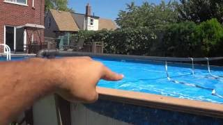 DIY Swimming Pool Solar Blanket Reel (Made From Pipe)