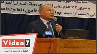أمين عام جامعة الدول العربية: سوريا تحتاج لـ900 مليار دولار لإعادة إعمارها
