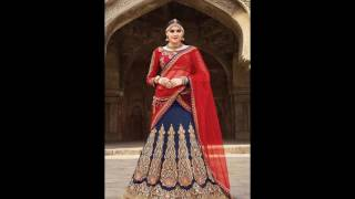 Designer Bridal Lehenga 2016 for Weddings and Parties ( cat-2298 )