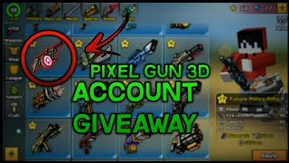 Pixel Gun 3D HACKED ACCOUNT GIVEAWAY (EVERY WEAPON/GEAR/CRAFT UNLOCKED) (MYTHICAL PETS!)