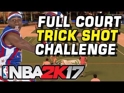 NBA 2K17 INSANE TRICK SHOT CHALLENGE! IMPOSSIBLE?