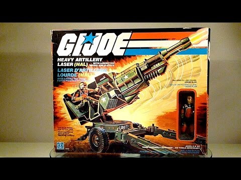 1982 HAL & Grand Slam (Heavy Artillery Laser) G.I. Joe review