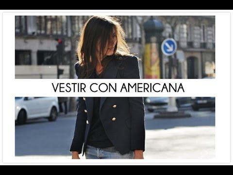 Vestir con americana